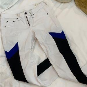 Rag and bone white jeans